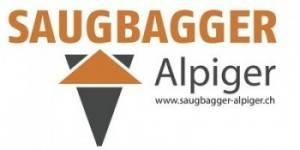 Saugbagger Logo leinwand