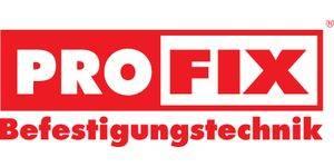 Logo Profix_rot_auf_weiss vektorisiert mit Befestigungstechnik