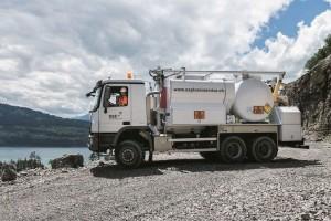Mischladefahrzeug Pumptruck für Anwendung Übertag