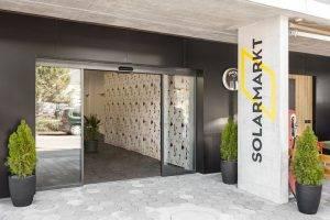 Eingangsbereich der Solarmarkt GmbH
