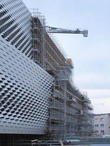 Messe Basel contruction de la nouvelle halle