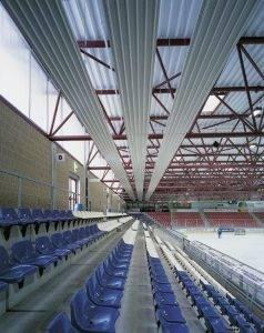 Industrielacke Eishalle