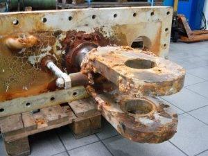 Hydraulikzylinder Wasserkraft
