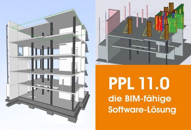 Die zentrale Softwarelösung in 2D und 3D unterstützt den Import von DXF, - DWG, - IFC Format Quelle: PASCHAL / planitec